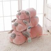 創意小豬趴枕公仔毛絨玩具趴趴豬兒童睡覺抱枕布娃娃辦公午睡枕頭XSX