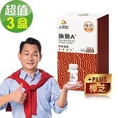 【人可和】 納麴A+ 樟芝添加(30粒x3瓶,共90粒
