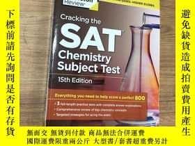 二手書博民逛書店Cracking罕見the SAT Chemistry Subj