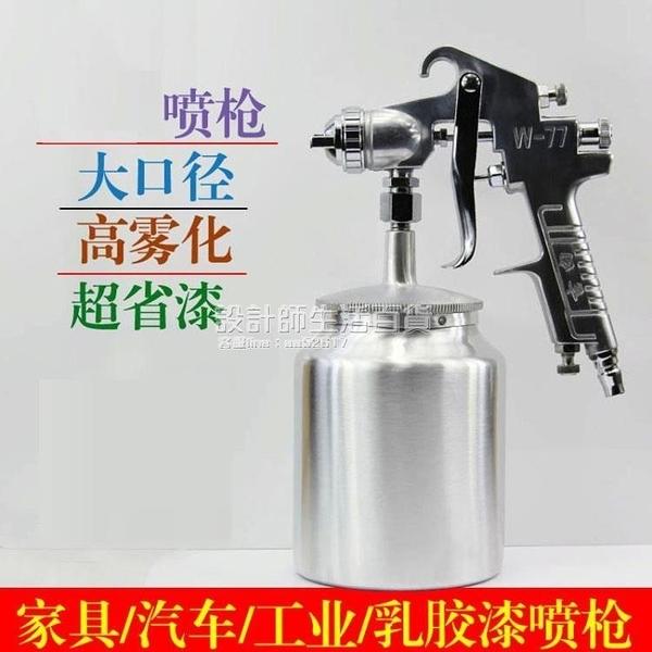 油漆電動噴漆槍涂料小口徑噴槍空壓機噴壺工業噴壺汽車家用配件 NMS設計師生活百貨