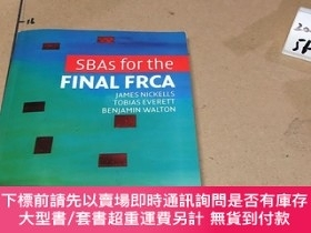 二手書博民逛書店英文原版:Sbas罕見for the Final Frca-最終Frca的SBAY182979 Sbas fo