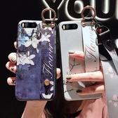 小米6手機殼女6X硅膠紅米6腕帶支架6A個性創意全包6Pro磨砂Pro情侶超薄掛脖mi6潮女款帶掛繩