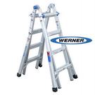美國Werner穩耐安全鋁梯-MT-17 鋁合金伸縮式多功能梯 魔術梯 萬用梯 /台  (出貨後無法退換貨)