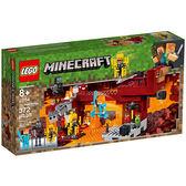 樂高積木 LEGO 2019《 LT21154 》Minecraft 系列 - The Blaze Bridge╭★ JOYBUS玩具百貨