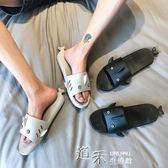 夏季潮款男女拖鞋日系文藝個性鯊魚拖鞋搞怪休閒居家浴室情侶涼拖 道禾生活館