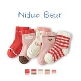 兒童襪子 嬰兒襪春秋秋冬純棉寶寶女童兒童襪中筒可愛無骨襪子