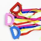 彩虹絲帶游戲搖鈴玩具 4個