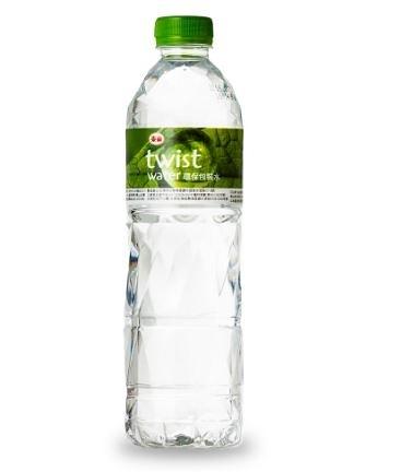 【免運/聯新貨運】泰山Twist Water環保水600ml(24入/箱)*1箱【合迷雅好物超級商城】-01