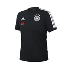 ADIDAS 男足球短袖T恤(純棉 亞規 休閒 上衣 德國 慢跑 愛迪達≡體院≡ FI1461