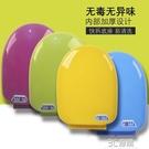 彩色馬桶蓋家用通用老式配件V型U型抽水座便坐便器蓋子加厚廁所板 3C優購