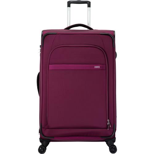 COSSACK LEADING領航系列3 布箱可加大 行李箱/旅行箱29吋-深紫色-