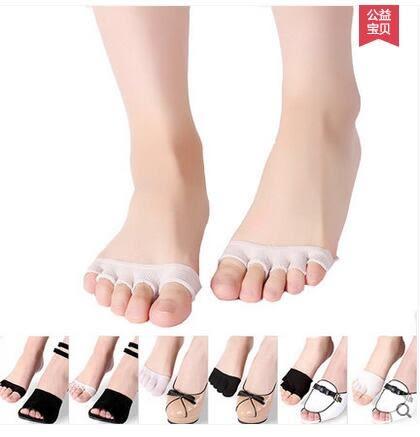 夏季薄款純棉隱形淺口半掌五指船襪PLL3771【男人與流行】