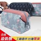 B221 韓國 創意 立體 大容量 鐵框 收納包 化妝包 清新 配色 動物 化妝 收納包