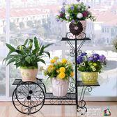 新瀅鐵藝花架多層室內外花架落地式花盆架客廳北歐式花架子陽台 igo魔方數碼館