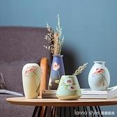 陶瓷小花瓶客廳家居現代輕奢網紅插花器干花北歐擺件水養 全館新品85折 YTL
