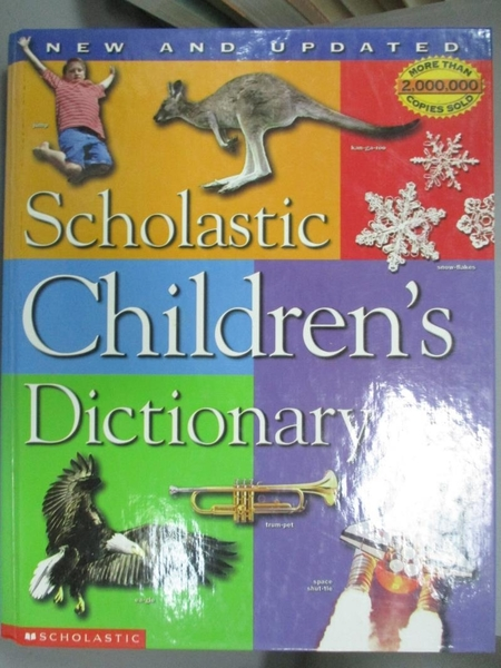 【書寶二手書T6/字典_XCH】Scholastic Children s Dictionary_Scholastic