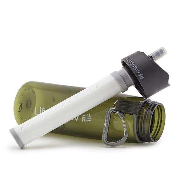LifeStraw Go二段式過濾生命淨水瓶 650ml / 城市綠洲(過濾、淨水、活性碳、登山露營、野外)