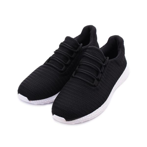 MATERIAL 斜紋網布運動鞋 黑 JIO0333 男鞋 鞋全家福