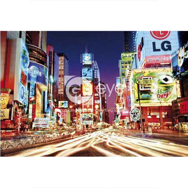 【台製拼圖】夜光-紐約時代廣場 (1000片) HM1000-216
