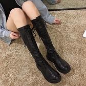 長靴女不過膝靴2020新款靴子加絨秋冬款網紅長筒秋款鞋高筒騎士冬 夢幻小鎮