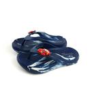 童鞋 夾腳拖鞋 人字拖 防水 雨天 深藍色 中童 293C no211