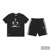 ADIDAS 童 棉質運動套裝 SHORT TEE SET DISNEY 迪士尼-H20316