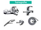 【麗室衛浴】*殺很大* 德國 HANSAGROHE Focus E系列 檯面龍頭+淋浴龍頭+蓮蓬頭+蛇管+掛杯 限量一組