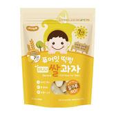 韓國 NAEBRO 米糕爆米花40g 香蕉口味(7個月以上適用) (韓國進口)寶寶餅乾/米餅/爆米花