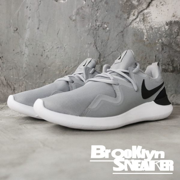 NIKE Nike Tessen 灰網 黑logo 慢跑鞋 休閒 男 (布魯克林) 2018/10月 AA2160-002