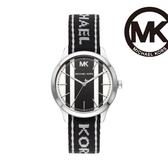 Michael Kors 經典帆布錶帶腕錶 MK2795