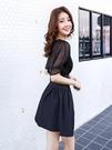 雪紡洋裝 吊帶裙超仙洋裝短款女小個子2021ins超火的雪紡裙子韓版夏 愛麗絲LX