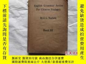 二手書博民逛書店ENGLISH罕見GRAMMER SERIES FOR CHIN