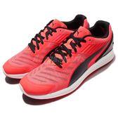【六折特賣】Puma 慢跑鞋 Ignite V2 紅 黑 Mesh 鞋面 運動鞋 路跑跑步 男鞋【PUMP306】 18861107
