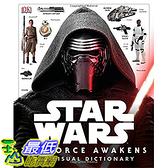 [ 美國直購 2016 暢銷書] Star Wars: The Force Awakens Visual Dictionary Hardcover