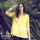 【ST.MALO】輕舞真我100%亞麻襯衫-1756WS-錫蘭黃