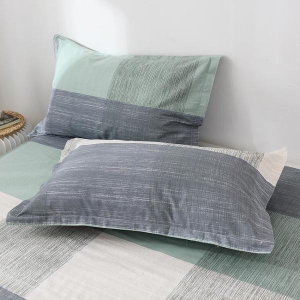 枕套一對裝學生宿舍單個枕頭套48x74cm單人枕芯套ins風網紅款男女 設計師生活百貨