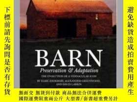 二手書博民逛書店Barn:罕見Preservation & Adaptation