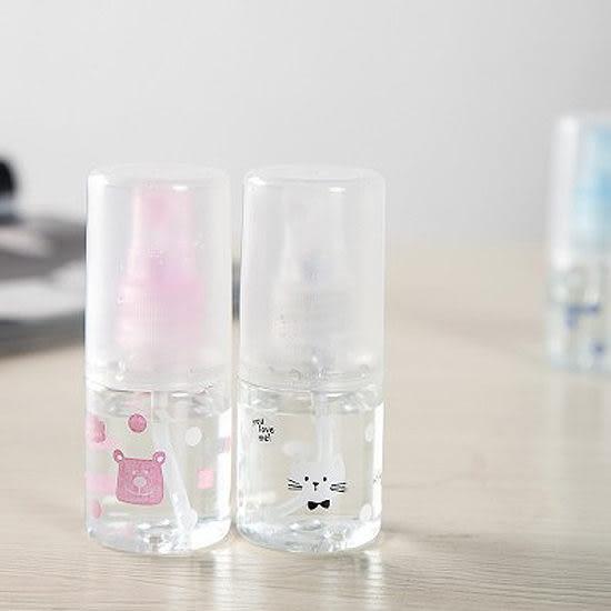 ◄ 生活家精品 ►【L28-1】圖案印花噴霧瓶 化妝水 保養品 旅行 戶外 美容 便攜 隨身 保濕 透明
