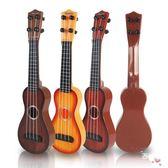 可彈奏仿真啟蒙尤克里里男女孩迷你水果吉他玩具兒童早教音樂樂器 聖誕交換禮物xw