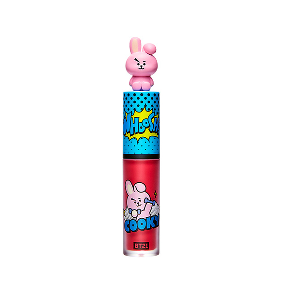 BT21 VT ART 唇釉 03漿糖紅(COOKY) 4ML