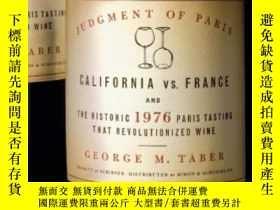 二手書博民逛書店Judgment罕見Of ParisY256260 George M. Taber Scribner 出版2