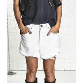 OneTeaspoon 牛仔短褲 WHITE BEAUTY OUTLAWS - OUTLAWS-  女(白)