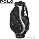 polo高爾夫球包 標準包 男士 PU面料球袋 球桿包CY  (pink Q 時尚女裝)