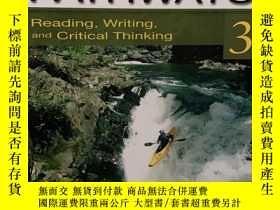 二手書博民逛書店Pathways罕見3: Reading, Writing, and Critical Thinking  Mar