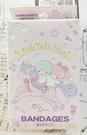 【震撼精品百貨】Little Twin Stars KiKi&LaLa 雙子星小天使~三麗鷗~日本可愛圖案OK蹦(盒裝/18枚)粉*28028