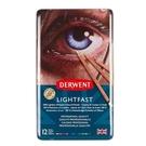 DERWENT達爾文-LIGHTFAST油性色鉛12色-鐵盒裝DW2302719-
