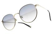 CARIN 太陽眼鏡 KATHARINE WI C1 (金-漸層藍鏡片) 韓星秀智代言 簡約迷人圓框款 # 金橘眼鏡