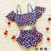 女寶寶泳衣韓國公主游泳衣