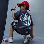 童裝男童夏裝套裝2021年新款帥洋氣男孩夏季時髦網紅中大兒童韓版 幸福第一站