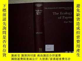 二手書博民逛書店THE罕見ECOLOGY OF PAPUAY203004